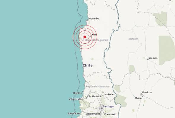 Gempa bumi gegar Chile