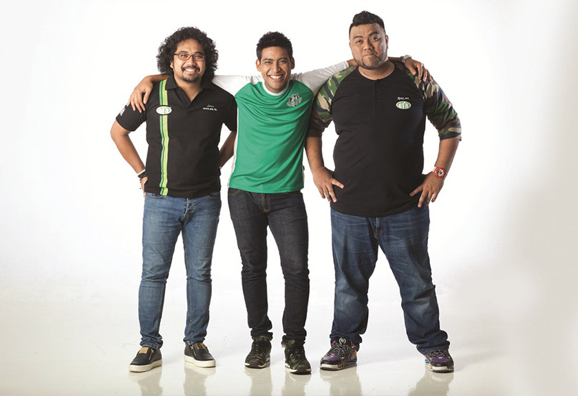 JoHaRa Pagi ERA with Johan, Haniff and Ray pulls in 2.6 million listeners each week.