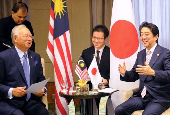 Najib, Abe bincang gelombang kedua Dasar Pandang Ke Timur