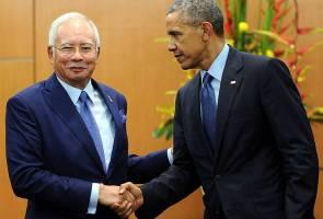 Isu RM2.6 bil, Obama enggan komen
