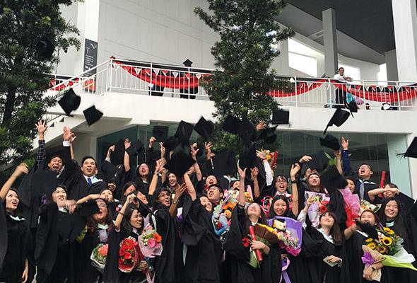 1,621 graduan terima ijazah di Konvokesyen ke-11 Taylor's University