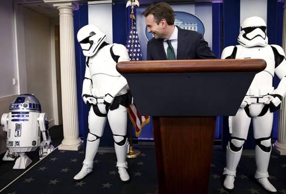 Demam Star Wars turut melanda Rumah Putih!
