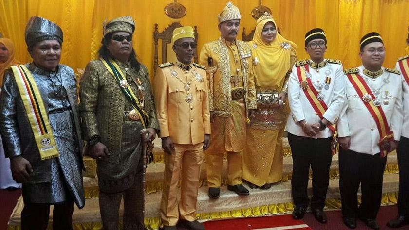 Abdul Rani menghadiri majlis penganugerahan gelaran Datuk Paduka Mahkota Melaka daripada individu yang mendakwa dirinya Sultan Melaka Darul Islam baru-baru ini - Sumber gambar Facebook Abdul Rani Kulup Fans