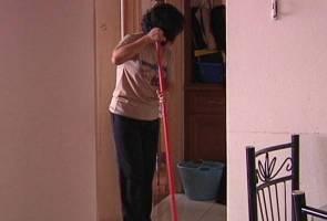 Pembantu rumah terpaksa kerja lima tahun tanpa dibayar gaji