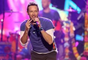 Coldplay berjaya memukau ribuan peminat di Singapura