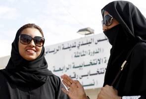Wanita di Arab Saudi dibenarkan mengundi buat kali pertama