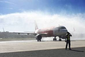 Langkawi jadi lapangan terbang antarabangsa ke-6 AirAsia