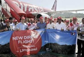 AirAsia targets four million foreign tourists to Langkawi