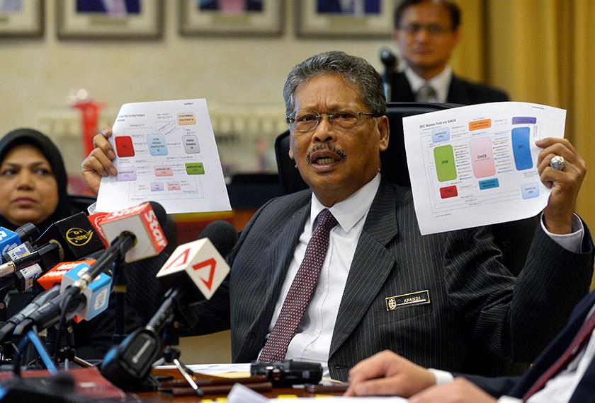 Pada Selasa lepas, Peguam Negara membersihkan Najib daripada sebarang salah laku jenayah berkaitan isu dana RM2.6 bilion dan SRC International.