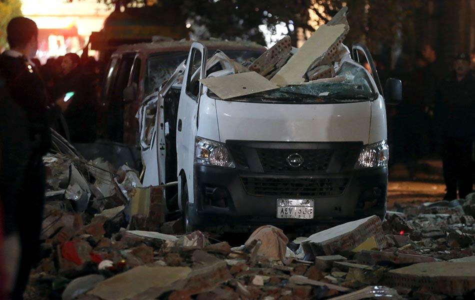 egypt, cairo, bomb blast