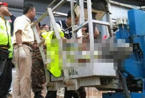 Lelaki maut tersepit di tapak projek MRT