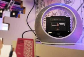 Li-fi 100 Kali Ganda Lebih Pantas Daripada Wi-fi