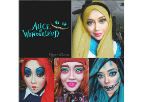 Makeup Artist Uses Hijab To Transform Into Disney Characters - Makeup artist uses hijab to transform herself into disney characters