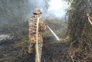 Kebakaran hutan Kuala Baram: Jerebu selubungi Miri, IPU melebihi paras bahaya