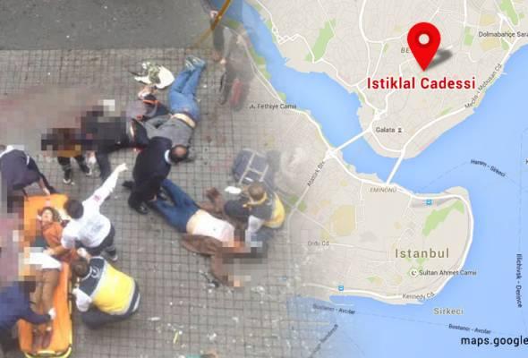 Lima maut serangan pengebom bunuh diri di Istanbul
