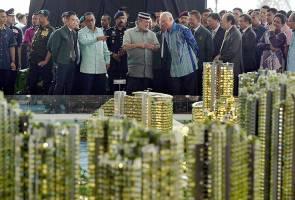 Forest City diberikan Status Kawasan Bebas Cukai - Najib