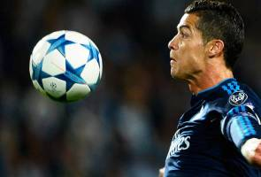 Mata penonton lebam terkena sepakan penalti Ronaldo