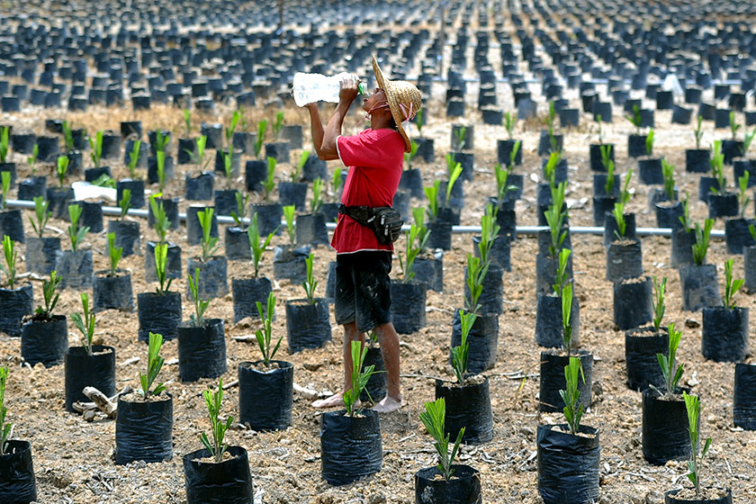 Malaysia berhadapan cuaca panas dan kering sejak beberapa minggu lalu