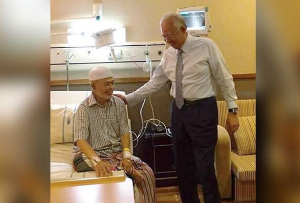 Najib ziarah Haron Din di IJN