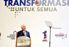 Intipati penting ucapan Najib pada pelancaran laporan Program Transformasi Negara 2015