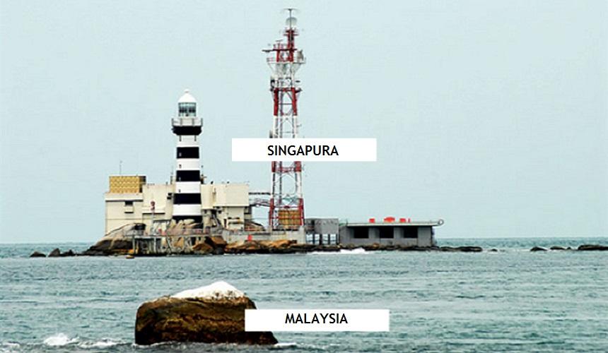 Jarak di antara Malaysia dan Singapura