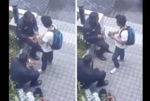 [VIRAL] 'Anggota polis' peras duit remaja, PDRM tidak akan kompromi salah laku