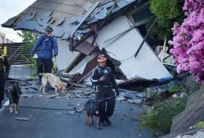 Gempa bumi kuat melanda Kumamoto, Jepun sekali lagi