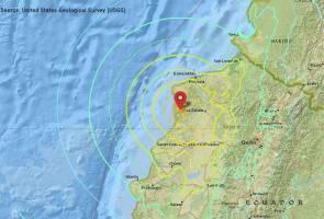 Gempa bumi dengan kekuatan 7.8 magnitud landa Ecuador