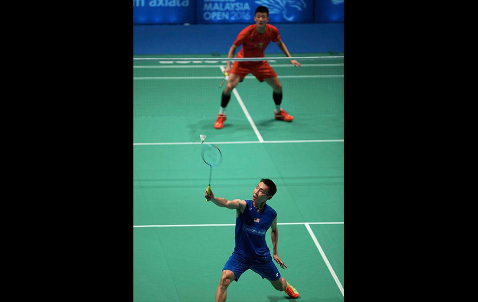 lee chong wei, malaysia open, badminton, chen long