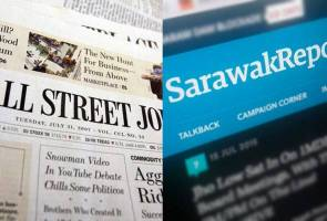 WSJ and Sarawak reports have no respect for Malaysia