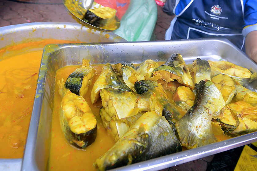 Ikan patin masak tempoyak adalah antara menu paling popular jika berkunjung ke negeri Pahang. - Foto Bernama