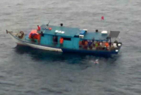 12 orang hilang di Pulau Aur ditemui selamat - APMM