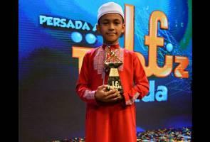 Tahfiz Muda Aqil muncul juara Tahfiz Muda musim pertama