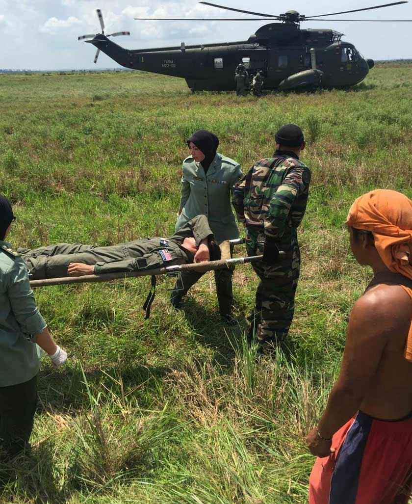 juruterbang dan juruterbang pelatih TUDM terbabit dilaporkan selamat dan kedua-dua mereka mengalami kecederaan ringan.