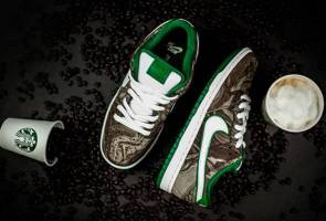 Kopi Starbucks inspirasi kasut baharu Nike