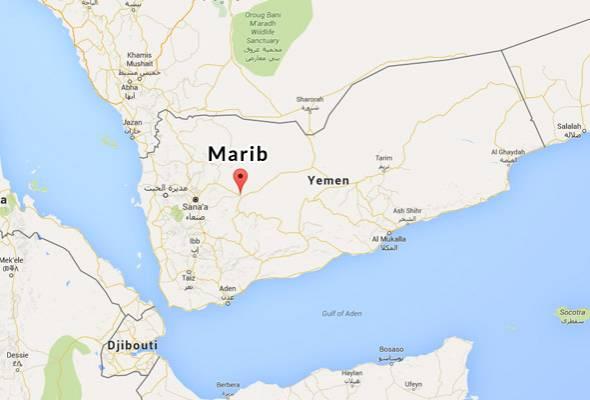 Serangan pengebom bunuh diri di Marib, enam maut
