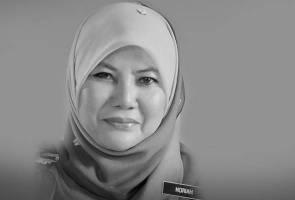 Timbalan Menteri Noriah Kasnon mangsa pertama nahas helikopter Sarawak