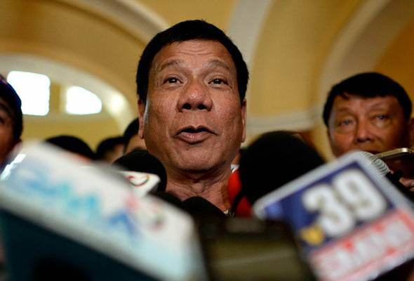Rodrigo Duterte menang Pilihan Raya Presiden Filipina