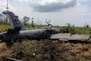 Pesawat pejuang TUDM terhempas di Pekan, dua anggota cedera ringan