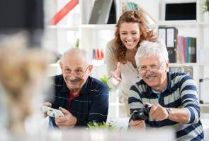 'Playful' video games can help fight depression in seniors