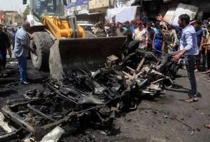 Tiga letupan bom kereta gegarkan Baghdad, ragut lebih 86 nyawa