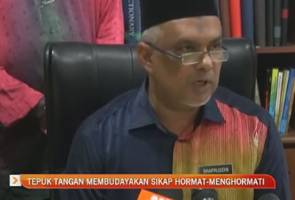 Isu arahan latihan tepuk tangan, Jabatan Pendidikan Terengganu beri penjelasan