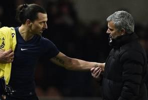 Zlatan Ibrahimovic dan Jose Mourinho bergandingan di Manchester United?