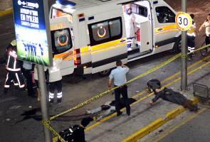 Lapangan terbang Istanbul diserang