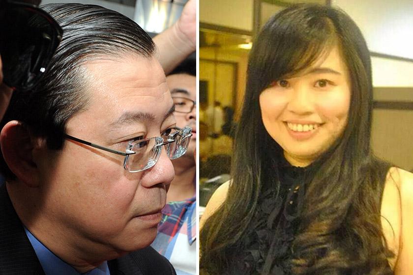 Lim Guan Eng dan Phang Li Koon