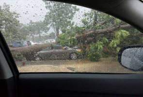 Hail storm hits power stations, disrupts LRT services