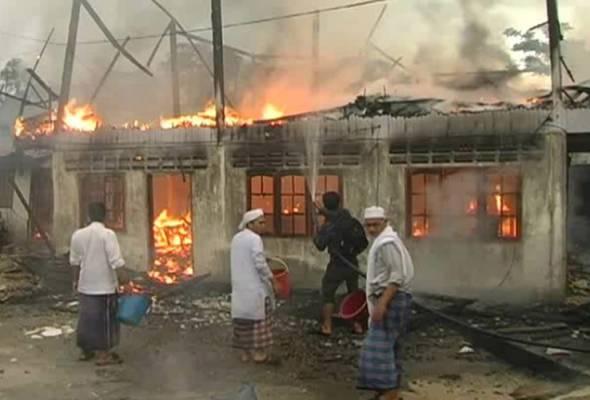 Asrama pondok di Pasir Tumboh terbakar