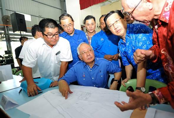 Kaum Cina harus bersatu, sokong BN demi keharmonian kaum - Najib