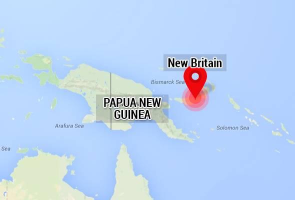 Gempa bumi landa Papua New Guinea