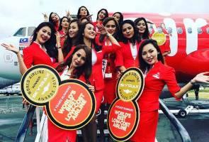 AirAsia sekali lagi dinamakan Syarikat Penerbangan Tambang Rendah Terbaik Dunia